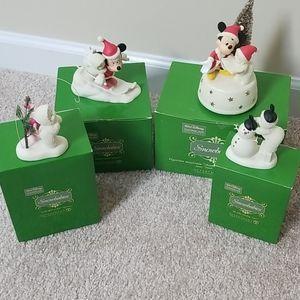 Snowbabies Figurines - Walt Disney Showcase